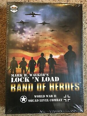 Lock 'n Load Band of Heroes - Matrix Games - Unpunched