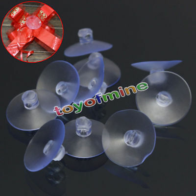 Transparent Suction Cup Sucker For Window Wall Hook Hanger Kitchen Bathroom New