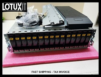 EMC Data Domain ES30 15x 2TB 7.2K SATA 005049555 Expansion Enclosure SAS JBOD