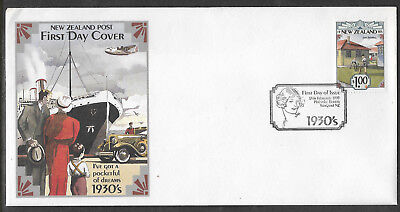 NEW ZEALAND 1993 Emerging Years 1930's CRICKET State Housing 1v FDC