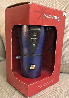 Stainless Tech Tools Heated Smart Travel Mug with Temperature Control 12V