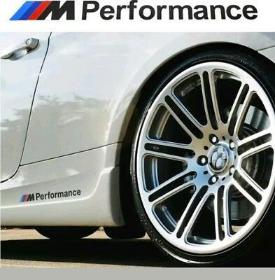 2 Ps M Tech Color Performance Badge Black Sticker Emblems Decal For All Series