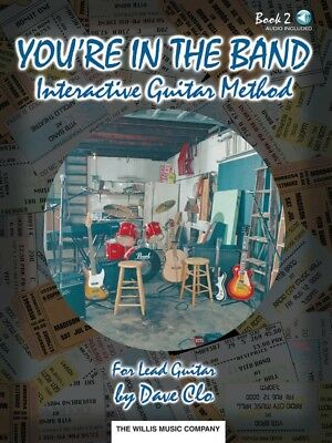 You're in the Band - Interactive Guitar Method - Book 2 for Lead Guitar - Book