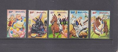 AUSTRALIA-2010-55c ROYAL EASTER SHOW SET-SHEET VARIETY-F/VFU-$3-freepost