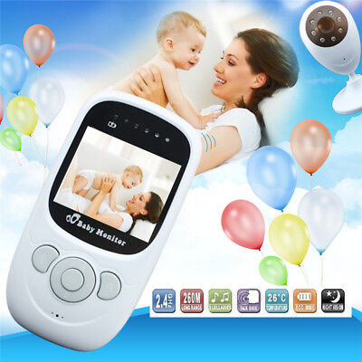 2.4G Wireless Digital Video Baby Monitor with 2.4-inch TFT LCD Screen HOT