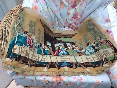 TAPESTRY CANVAS. THE LAST SUPPER.DESIGN Started  Art Abel