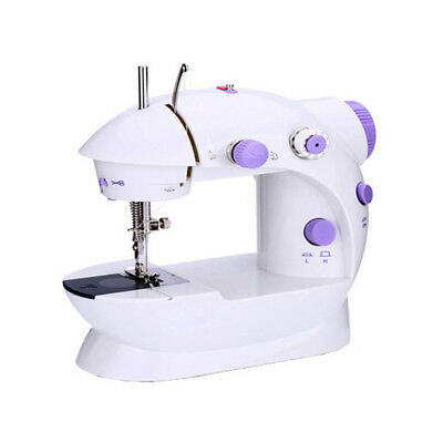 Desktop Sewing Machine Mini Electric Portable Hand Held Double Speed + Light T6
