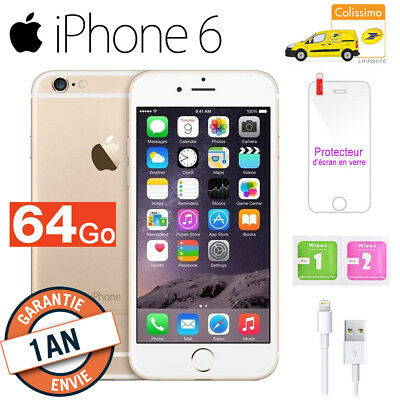 Apple iPhone 6 64go 64GB unlocked DÉBLOQUÉ Téléphones Mobile - OR Gold FR