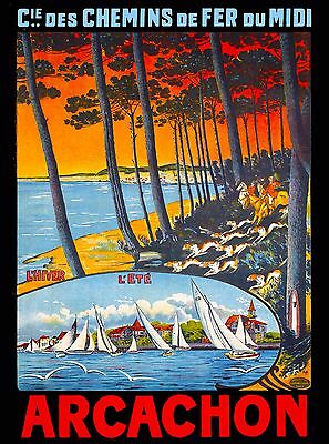 Nice France French Nouveau Tabarin European Travel Advertisement Art Poster