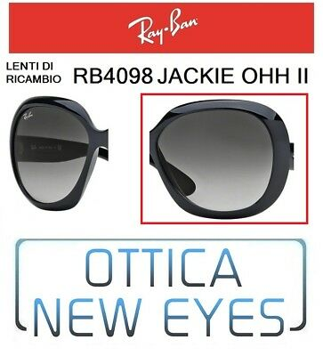 Lenti di Ricambio RAYBAN JACKIE OHH II RB4098 601/8g Replacement Lenses Ray Ban