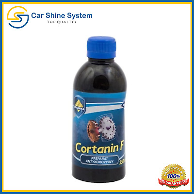 CORTANIN F Anti Rust STOP CORROSION Treatment Converter Protects Car Metal 250mL
