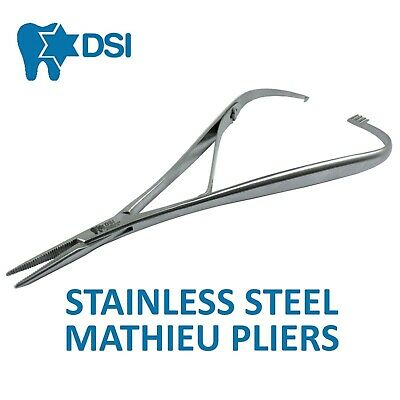 DSI Dental Surgical Orthodontic Mathieu Pliers Fine Tip Needle Holder