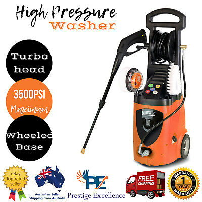 Giantz High Pressure Washer 3500psi  Electric Water Cleaner Gurney Long Hose AU