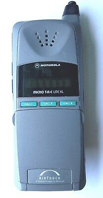 Motorola Micro T-A-C LITE XL AIR TOUCH Cell Phone flip phone untested
