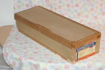 NICE Vintage Empty Box For Arranbee Nannette Red, Brown And Blonde Doll