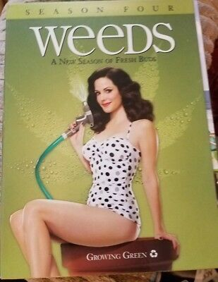 Weeds - Season 4 (DVD, 2009, 3-Disc Set) FREE SHIPPING