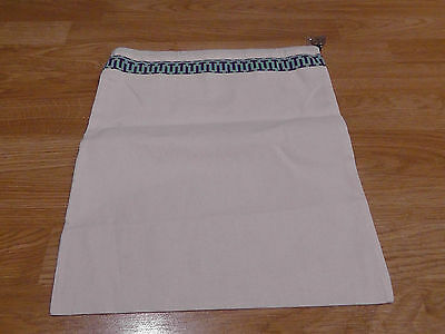 TORY BURCH Cloth Drawstring Bag for Shoes/ Handbag Dust Bag. Size 15L'' x 12W''