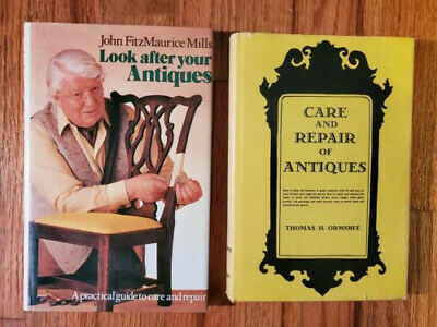 (Lot 2)Vintage Books(Looking After,Care,& Repair of Antiques)J. Mills/T. Ormsbee