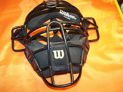 Wilson Steel Baseball Mask #a3080 Adult New Without Tags