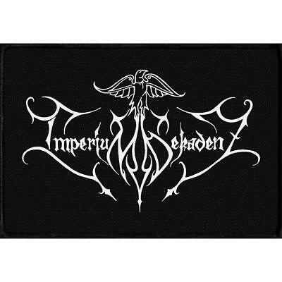 Official Licensed - Imperium Dekadenz - Logo Woven Sew-On Patch Death Metal