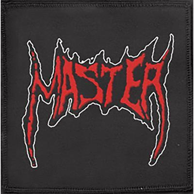 Official Licensed - Master - Logo Woven Sew-On Patch Death Metal