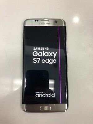 Samsung Galaxy S7 Edge 32GB SM-G935 Unlocked GSM Android Smartphone Line On LCD