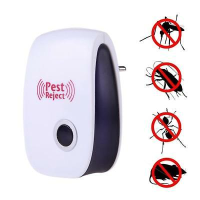 Electronic Pest Repeller Ultrasonic Mouse Rejector Mosquito Rat Repellent Killer