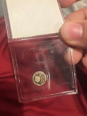 1867 Colombia 1/4 Real Bogota Silver