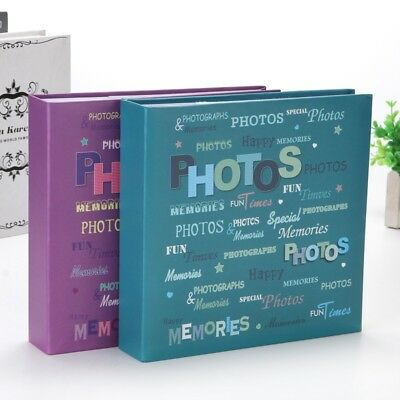 200 Pocket Photo Album 6x4 Slip-In Photograph Albums Picture Storage Book Family