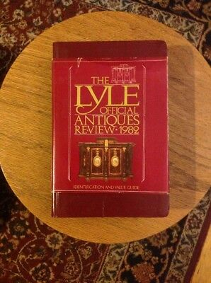 The Lyle Official Antiques Review 1982 (1981 Paperback) With Dust Jacket