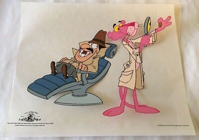 PINK PANTHER Cel-Dr. P. Panther DDS-MGM 2000-Fine Art Management Corp. w/COA