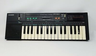 CASIO PT-180 Electronic Keyboard Music with family songs rom pack WORKS * READ