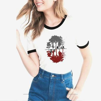 Stranger Things Summer Unisex Casual Fashion Printing T-shirt Tops Tee FW