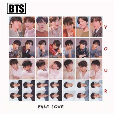 Kpop BTS FAKE LOVE YOURSELF ANSWER Album Lomo Photo Cards Autograph Photocard