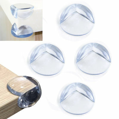 8 Baby Child Safety Proof Protector Glass Table Corner Edge Furniture Cover Case