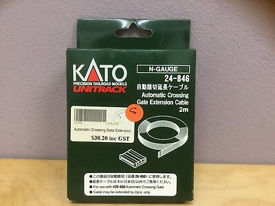 KATO, Automatic Crossing Gate Extension Cable 2m, N-Gauge, Track, 24-846