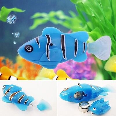 Kids Toy Gift Swim Robofish Activated Battery Powered Robo Fish Toy Fish Robotic