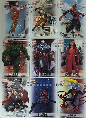 MARVEL NOW Trading card Set of 100 Upperdeck 2013