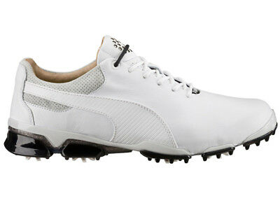 Puma Titan Tour Ignite Premium Golf Shoes - White