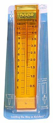 TAYLOR PRECISION PRODUCTS 46228 Rain Gauge with Centimeter Markings