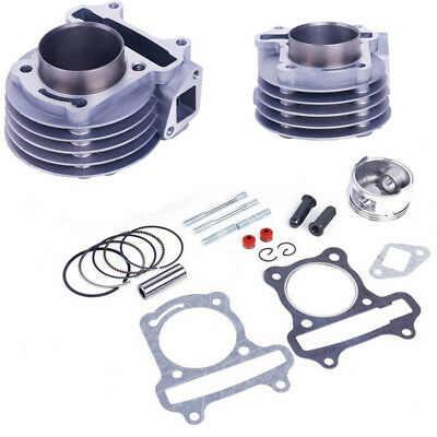 1Set 50mm Big Bore Cylinder kit for GY6 100cc 139QMB 139QMA Scooter Engine 4T