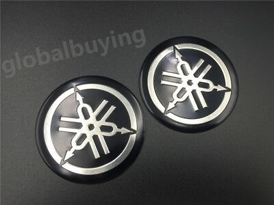 Motorcycle Tuning Fork Emblem Decals For Yamaha Fuel Tank Fairing Stickers 55mm