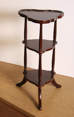 Three-Tier Wig Stand Side Table - Bombay Company