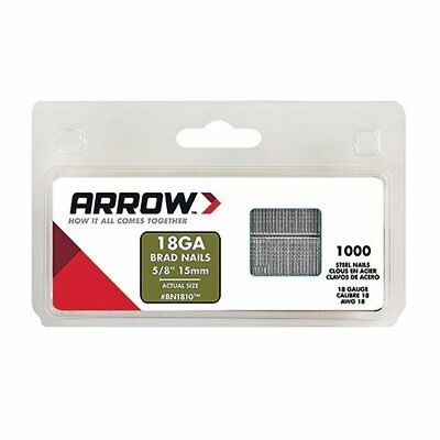 Arrow Fastener BN1810CS Brown Brad 5/8-Inch Nails, 1000-Pack