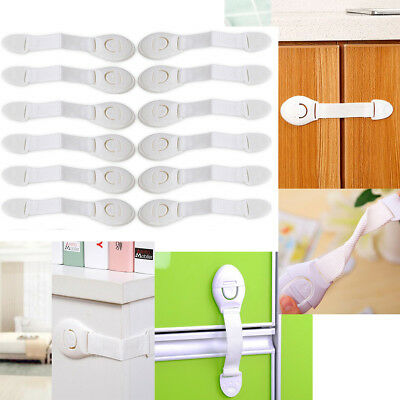 10/20Pcs Child Baby Cupboard Cabinet Safety Lock Pet Proofing Door Drawer Fridge