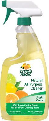 Citrus Magic Natural All Purpose Cleaner, Fresh Citrus Scent, 22-Ounce Spray