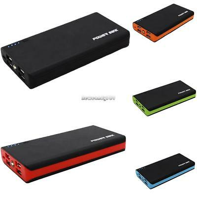 Ultrathin 20000mAh Portable External Battery Charger Power Bank Case for Phone 4