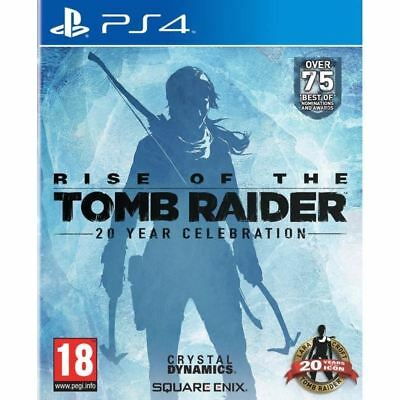 Rise of the Tomb Raider 20eme Anniversaire - PS4 neuf sous blister VF