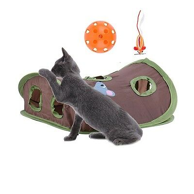 Kitten Cat Motion Toy Catch Hunt Mouse Chasing Interactive Training Scratchpad