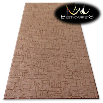 CHEAP & QUALITY CARPETS KASBAR brown Bedroom width 3m 4m 5m Large RUG ANY SIZE